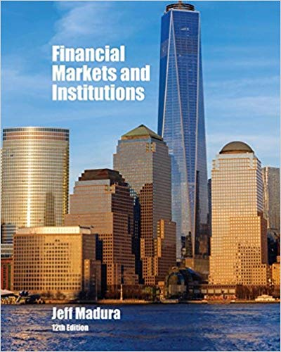 test bank for Financial Markets and Institutions 12th Edition的图片 1