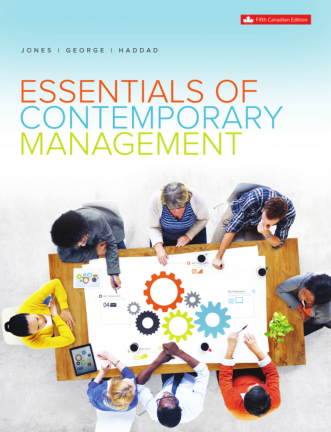 solution manual for Essentials of Contemporary Management 5th Canadian Edition的图片 1