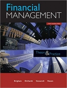 solution manual for Financial Management: Theory and Practice 3rd Canadian edition