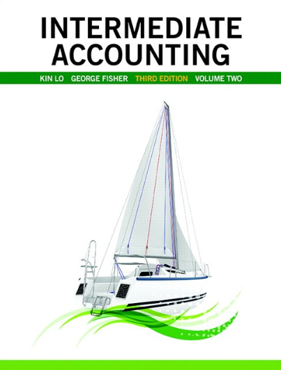 solution manual for Intermediate Accounting Vol.2 3rd Edition的图片 1