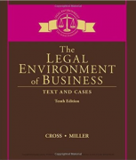 test bank for The Legal Environment of Business: Text and Cases 10th Edition