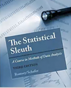 solution manual for The Statistical Sleuth: A Course in Methods of Data Analysis 3rd Edition