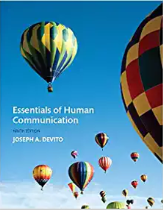 solution manual for Essentials of Human Communication 9th Edition的图片 1