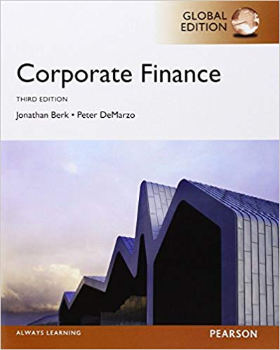 solution manual for Corporate Finance 3rd global Edition的图片 1