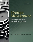 solution manual for Strategic Management 14th Edition by John Pearce