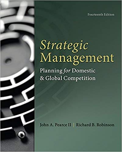 test bank for Strategic Management 14th Edition by John Pearce的图片 1
