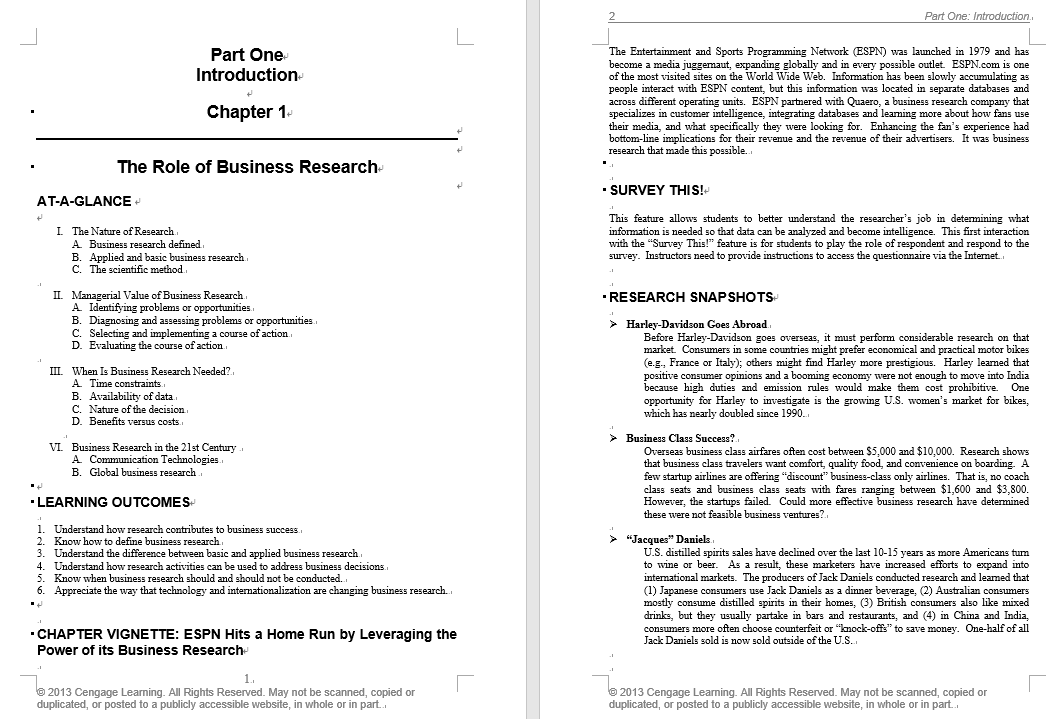 solution manual for Business Research Methods 9th Edition的图片 3