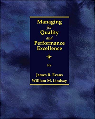 solution manual for Managing for Quality and Performance Excellence 10th Edition的图片 1