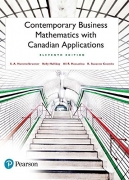 solution manual for Contemporary Business Mathematics with Canadian Applications 11th Edition