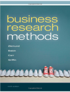 test bank for Business Research Methods 9th Edition