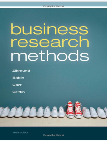 test bank for Business Research Methods 9th Edition的图片 1