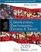 solution manual for South-Western Federal Taxation 2019: Corporations, Partnerships, Estates and Trusts 42nd Edition