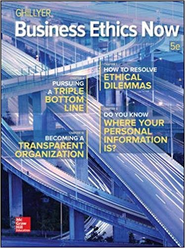 solution manual for Business Ethics Now 5th Edition的图片 1