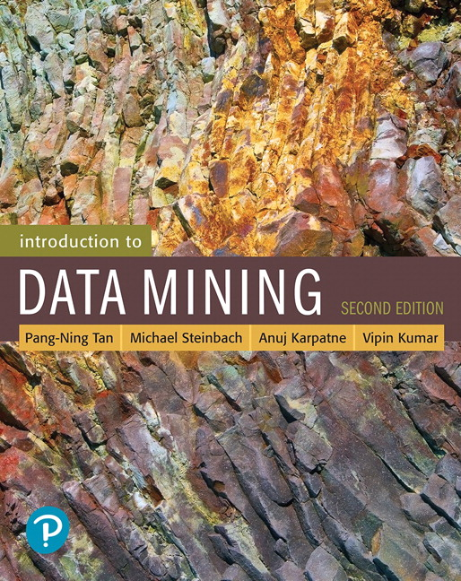 solution manual for Introduction to Data Mining, 2nd Edition的图片 1