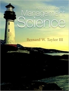 solution manual for Introduction to Management Science 11th Edition