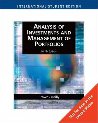 test bank for Analysis of Investments and Management of Portfolios 9th Edition的图片 1