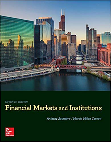solution manual for Financial Markets and Institutions 7th Edition的图片 1