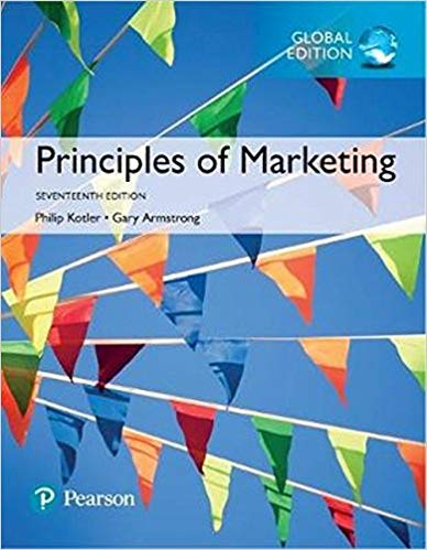 solution manual for Principles of Marketing 17th Global Edition的图片 1
