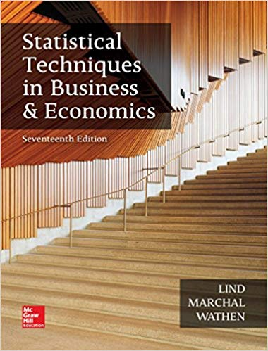 test bank for Statistical Techniques in Business and Economics 17th Edition的图片 1