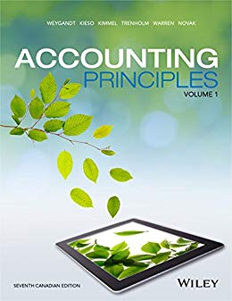 solution manual for Accounting Principles Volume 1, 7th Canadian Edition的图片 1