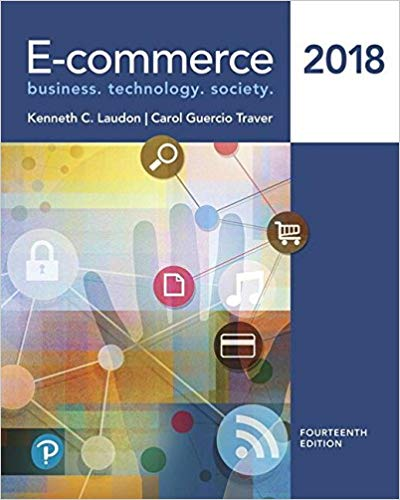test bank for E-commerce 2018 14th Edition的图片 1