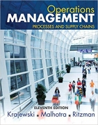 solution manual for Operations Management: Processes and Supply Chains 11th Edition