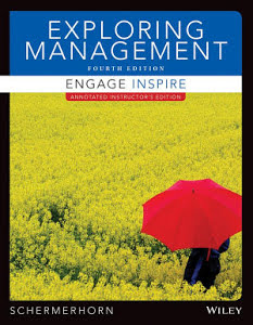 test bank for Exploring Management 4th Edition的图片 1