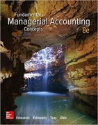 solution manual for Fundamental Managerial Accounting Concepts 8th edition