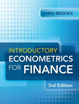 solution manual for Introductory Econometrics for Finance 3rd Edition的图片 1