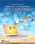 solution manual for Horngren's Financial and Managerial Accounting 6th Edition
