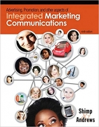 test bank for Advertising Promotion and Other Aspects of Integrated Marketing Communications, 9th Edition