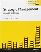 solution manual for Strategic Management Concepts and Cases 15th Global Edition