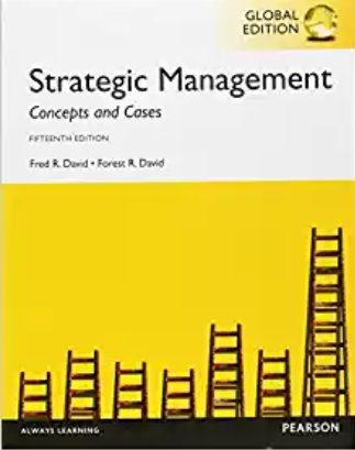 solution manual for Strategic Management Concepts and Cases 15th Global Edition的图片 1