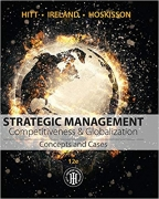 test bank for Strategic Management: Concepts and Cases: Competitiveness and Globalization 12th Edition
