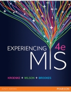 test bank for Experiencing MIS 4th Australian Edition