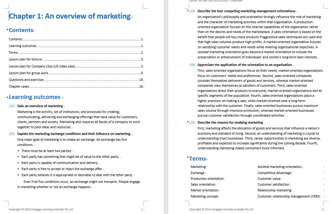 solution manual for MKTG3 3rd Asia-Pacific Edition的图片 3