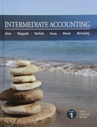 solution manual for Intermediate Accounting 10th Canadian Edition Volume 1的图片 1