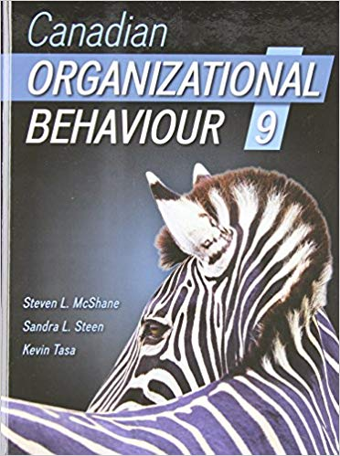 test bank for Canadian Organizational Behaviour 9th Edition的图片 1
