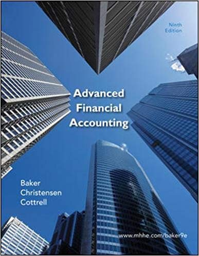 test bank for Advanced Financial Accounting 9th Edition的图片 1
