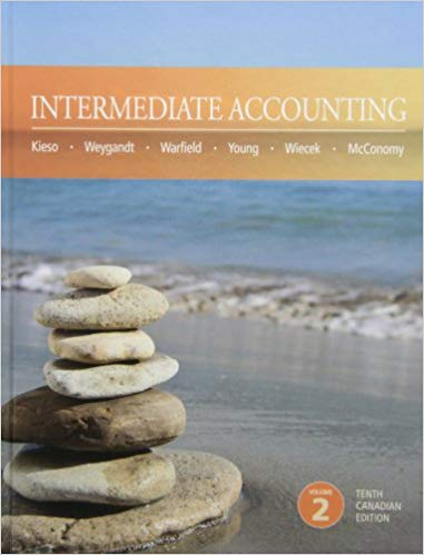 test bank for Intermediate Accounting 10th Canadian Edition Volume 2的图片 1