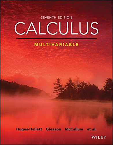 test bank for Calculus: Multivariable 7th Edition的图片 1