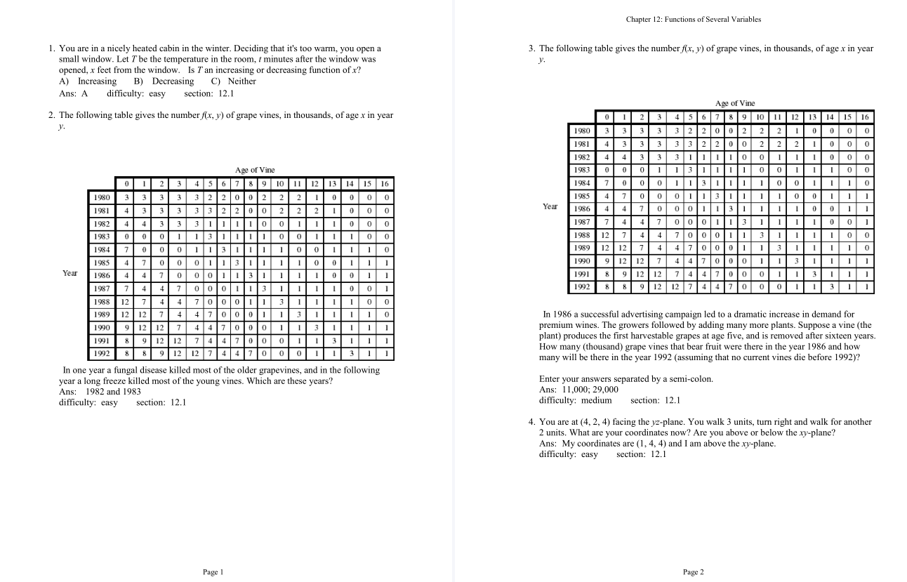 test bank for Calculus: Multivariable 7th Edition的图片 3