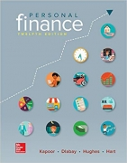 test bank for Personal Finance 12th Edition by Jack Kapoor