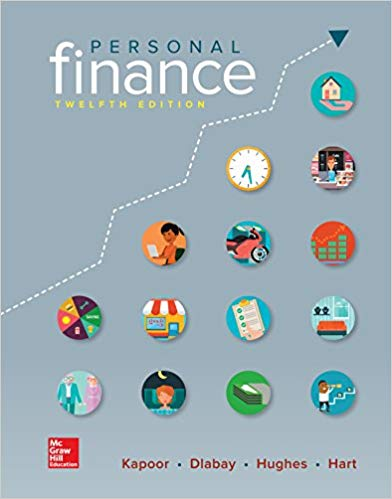 test bank for Personal Finance 12th Edition by Jack Kapoor的图片 1