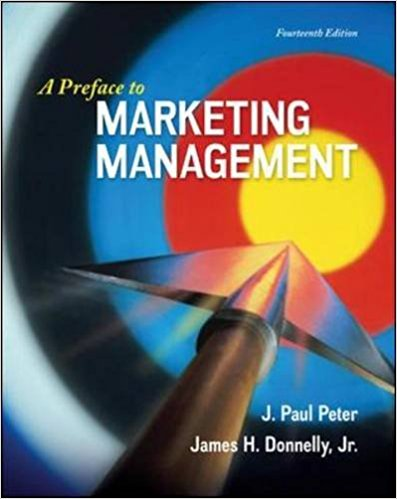 test bank for A Preface to Marketing Management 14th Edition的图片 1