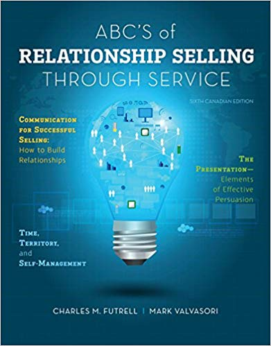 test bank for abc's of relationship selling through service 6th canadian edition的图片 1