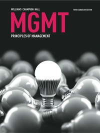 test bank for MGMT 3rd Canadian Edition by Williams的图片 1