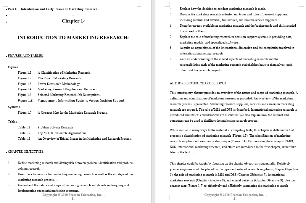 solution manual for Marketing Research: An Applied Orientation 6th Global Edition的图片 4