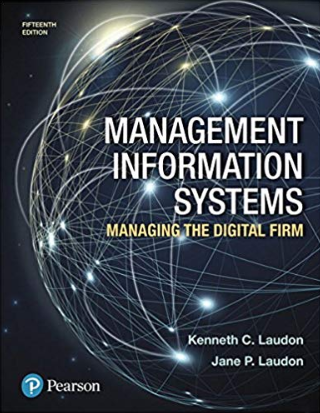 solution manual for Management Information Systems: Managing the Digital Firm 15th Edition的图片 1