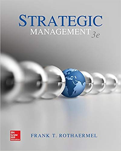 solution manual for Strategic Management 3rd Edition的图片 1